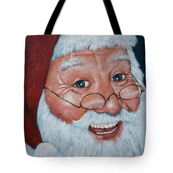 Merry Santa Tote Bag