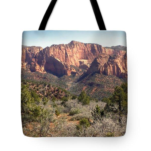 Mesa In Kolob Tote Bag by Robert Bales