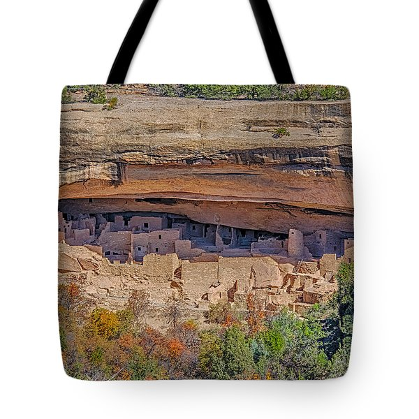 Mesa Verde Cliff Dwelling Tote Bag