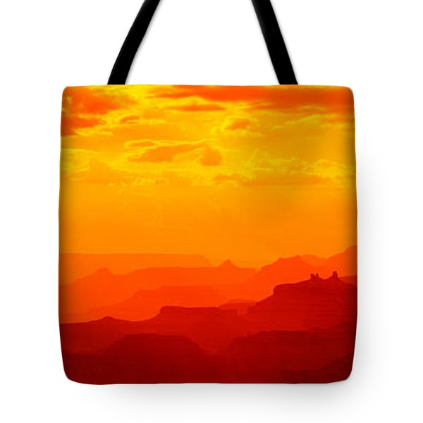 Mesas And Buttes Grand Canyon National Tote Bag