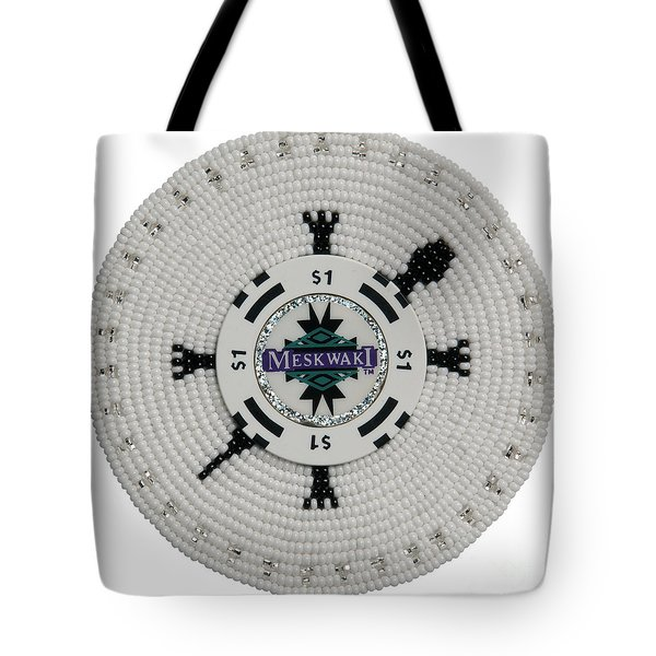 Meskwaki White Tote Bag