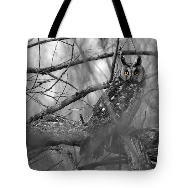 Tote Bag featuring the photograph Mesmerizing Eyes by James Peterson