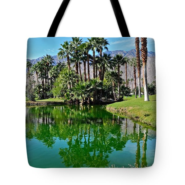 Mesquite Country Club Lake Tote Bag