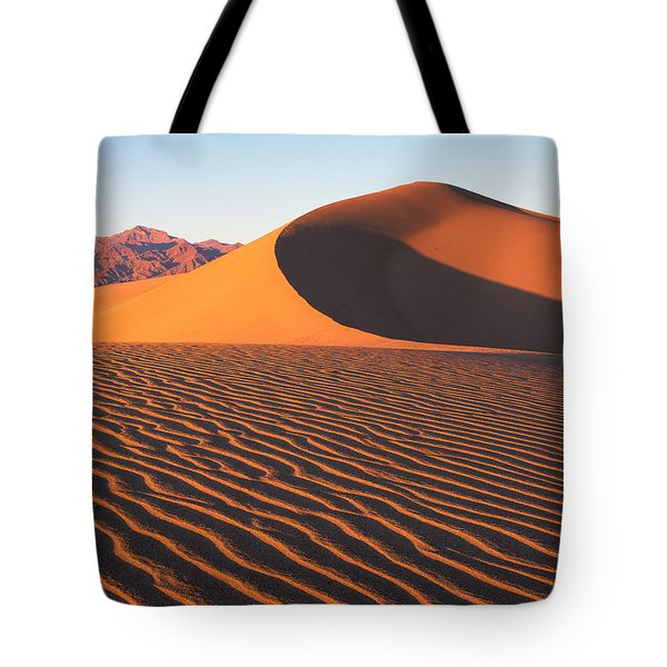 Mesquite Dunes 1-v Tote Bag