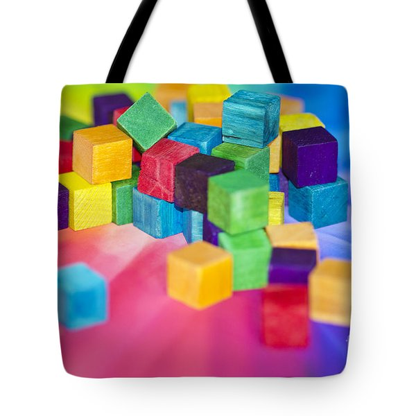 Mess Of Colour Tote Bag