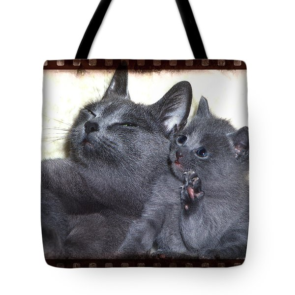 Mess With My Ma I'll Scratch Your Eyes Out Tote Bag
