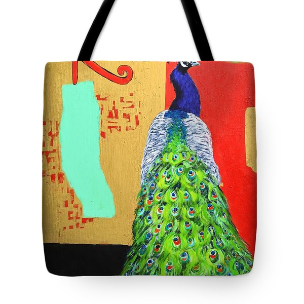 Tote Bag featuring the painting Messages by Ana Maria Edulescu