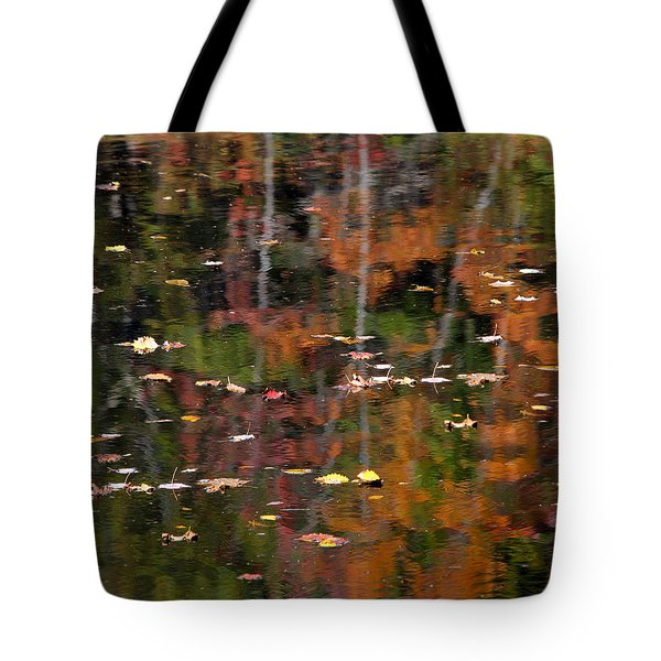 Messalonskee Reflection 1 Tote Bag