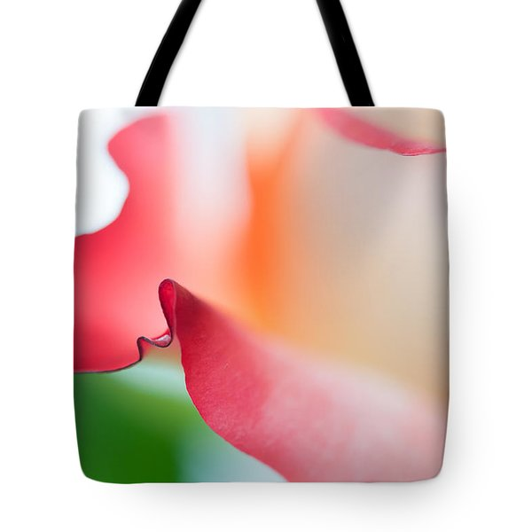 Messenger From Another Realm II. Ethereal Rose Tote Bag by Jenny Rainbow