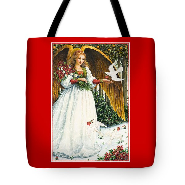 Messengers Of Peace Tote Bag