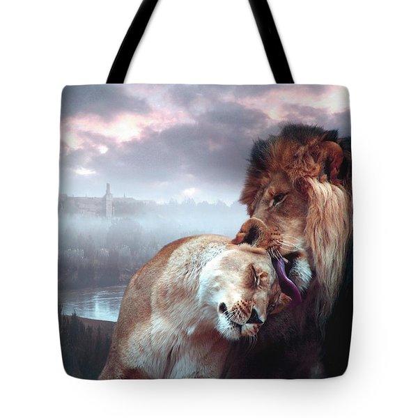 Yeshua Loves Israel Tote Bag by Bill Stephens