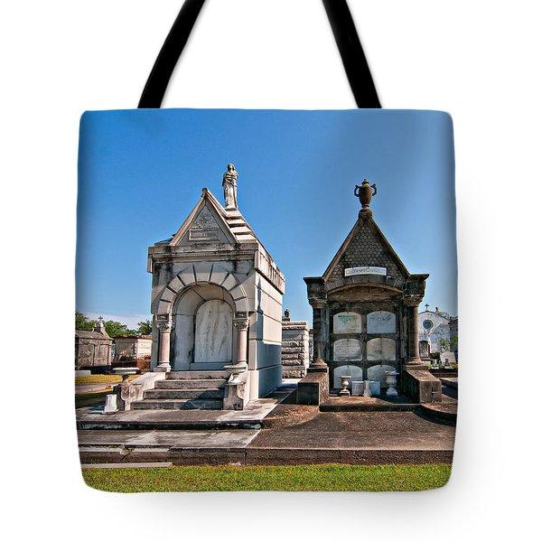 Metairie Cemetery 4 Tote Bag by Steve Harrington