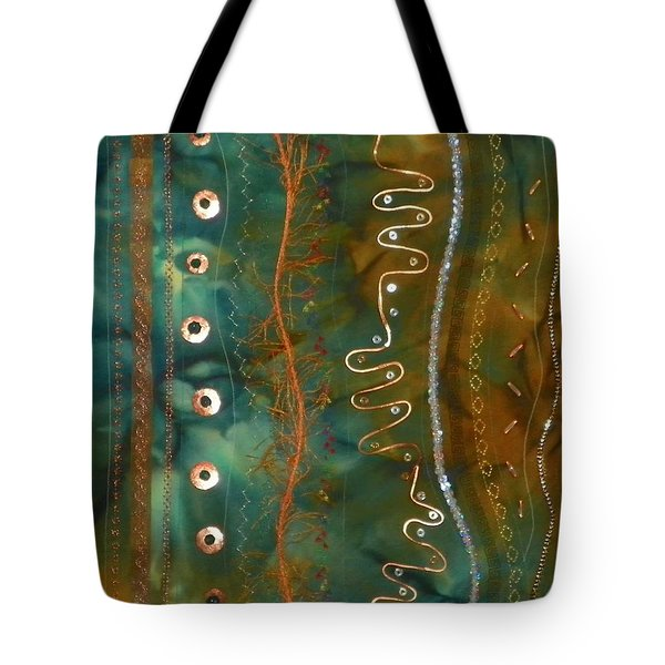 Metal Candy Tote Bag by Jenny Williams
