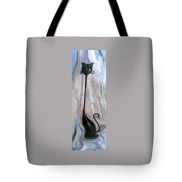 Metal Cat Tote Bag