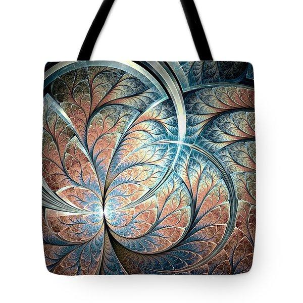 Metal Forest Tote Bag by Anastasiya Malakhova
