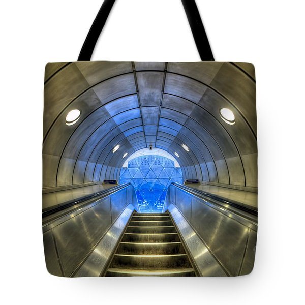 Metal Fusion Tote Bag