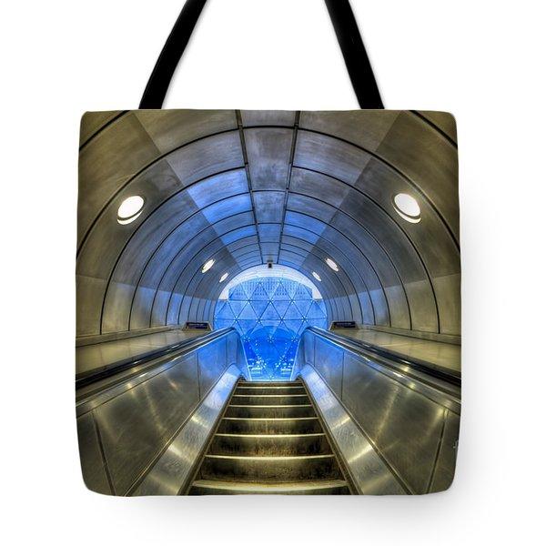 Metal Fusion Tote Bag by Evelina Kremsdorf