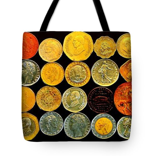 Metal Profiles Tote Bag by Benjamin Yeager