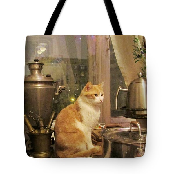 Metal Surround Tote Bag