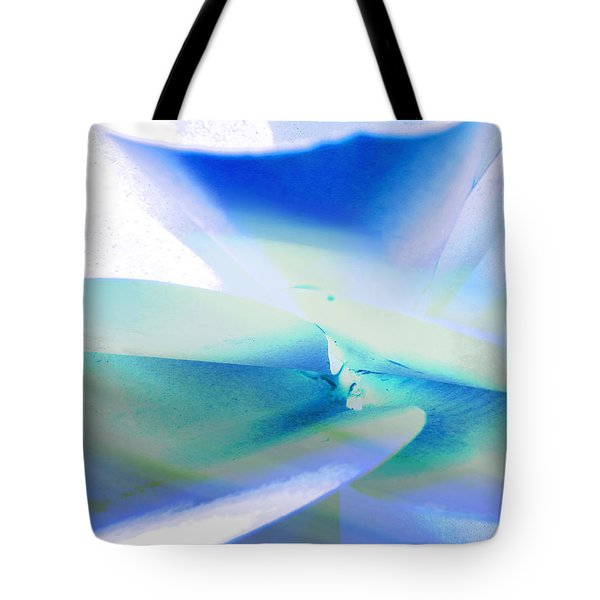 Metal To The Petal 1 Tote Bag by Lenore Senior