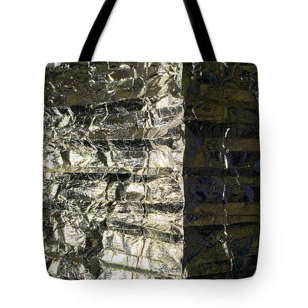Metallic Reflection Tote Bag
