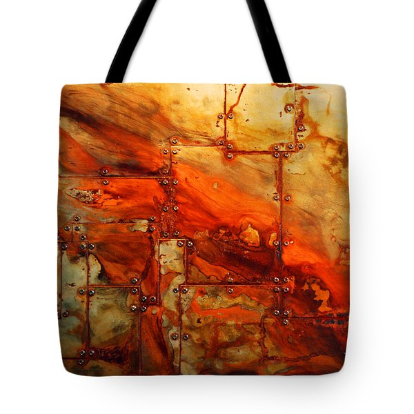 Metalwood Tote Bag