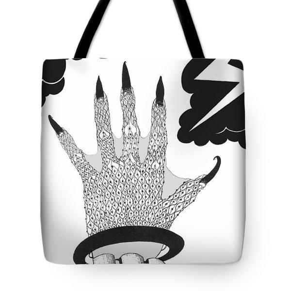 Tote Bag featuring the digital art Metamorphosis by Carol Jacobs