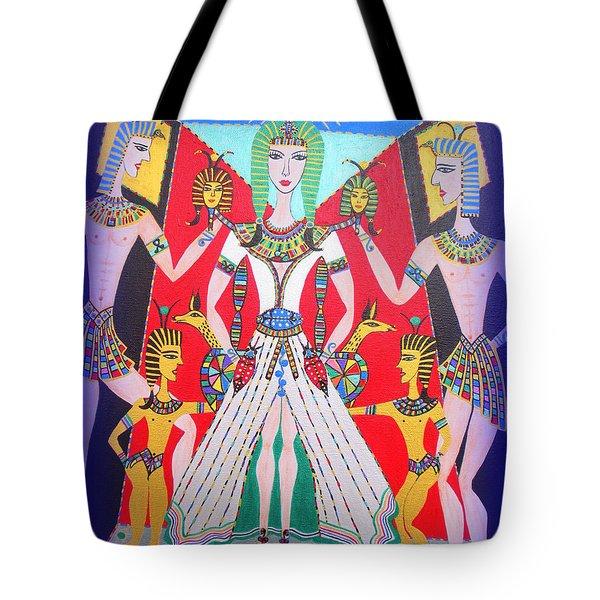 Metamorphosis Of Melisa Into Nefertiti Tote Bag