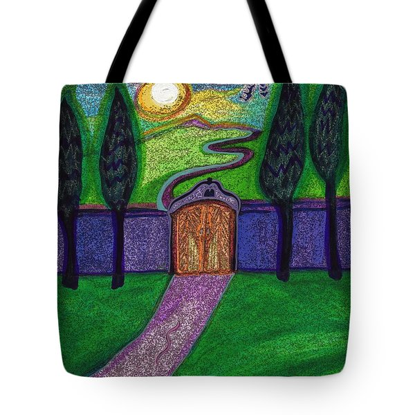 Metaphor Door By Jrr Tote Bag