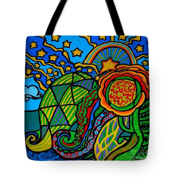 Metaphysical Starpalooza Tote Bag by Genevieve Esson