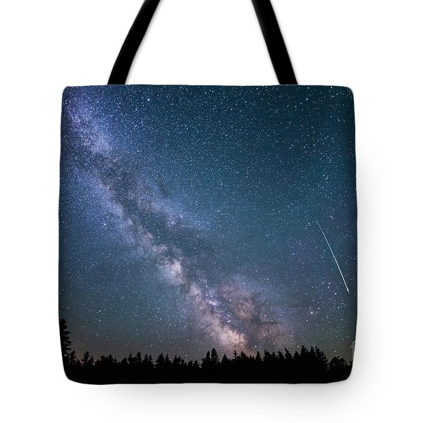 Meteor Milky Way  Tote Bag