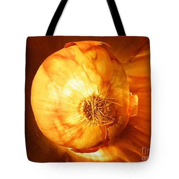 Meteoric Onion Tote Bag by Brian Boyle