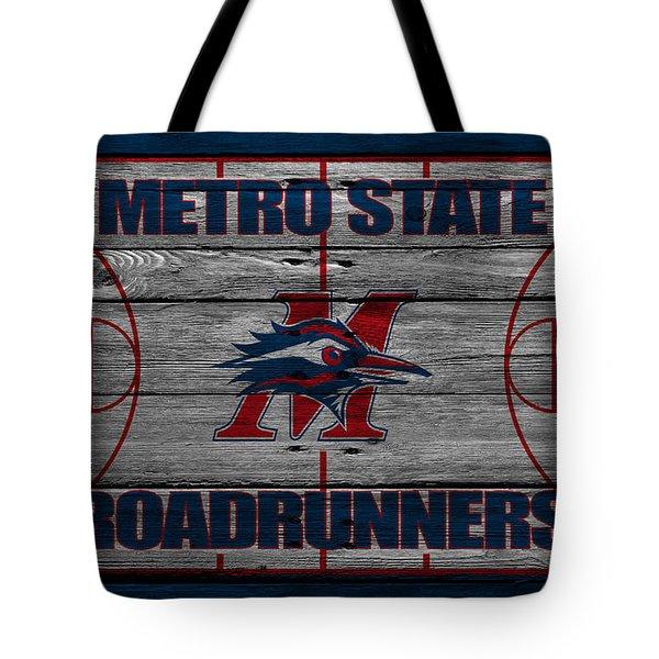 Metropolitan State Roadrunners Tote Bag