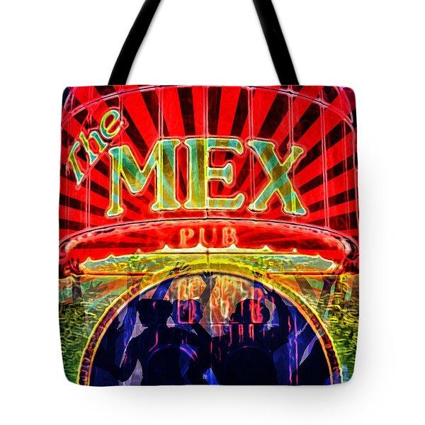 Mex Party Tote Bag by Richard Farrington