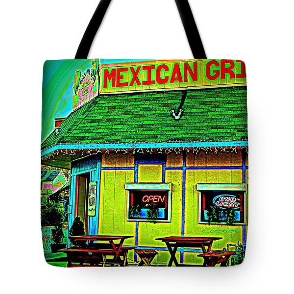 Mexican Grill Tote Bag