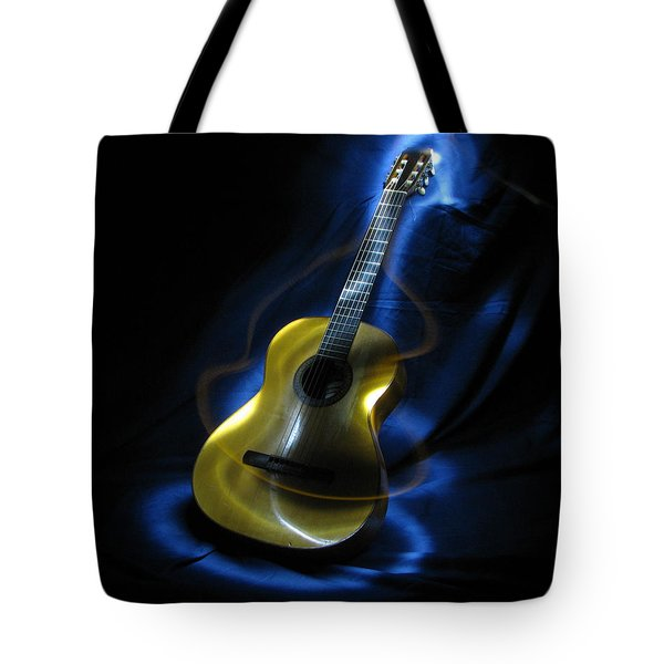 Mexican Guitar Tote Bag