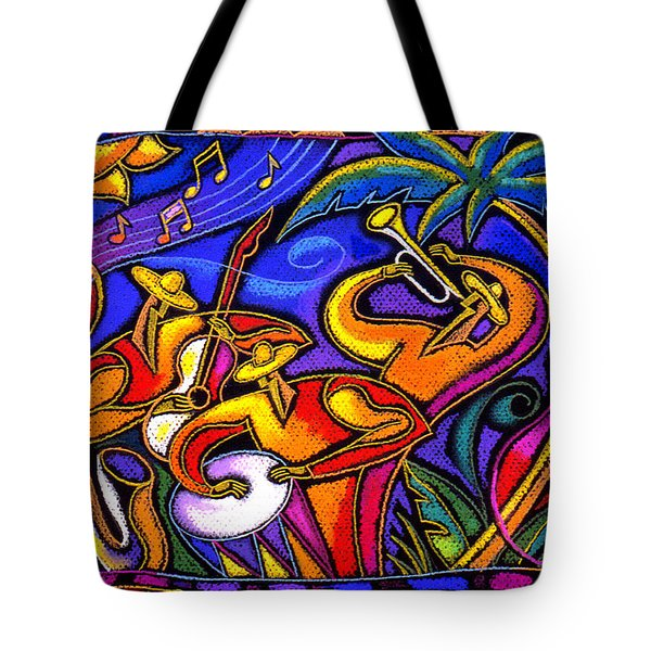 Latin Music Tote Bag