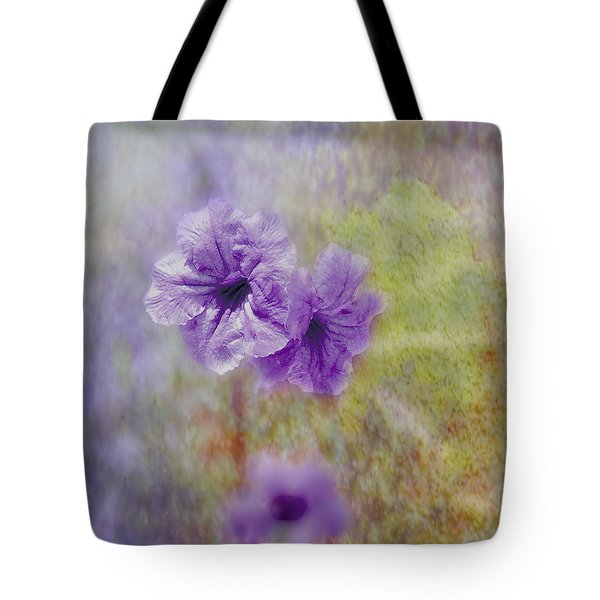 Mexican Petunia Tote Bag