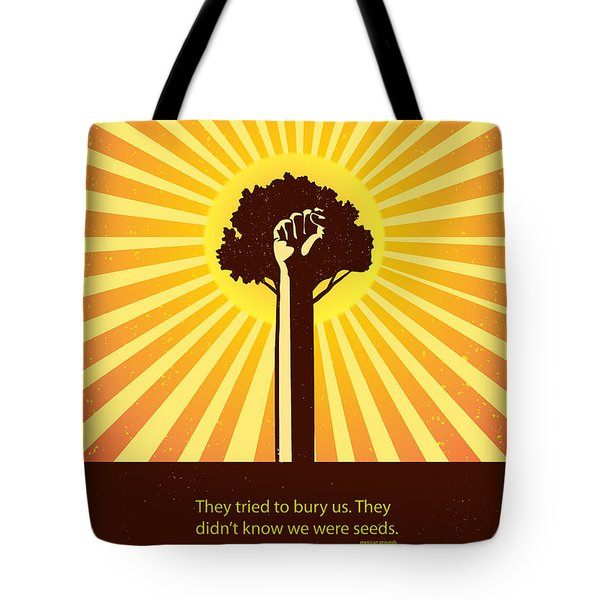 Mexican Proverb Minimalist Poster Tote Bag