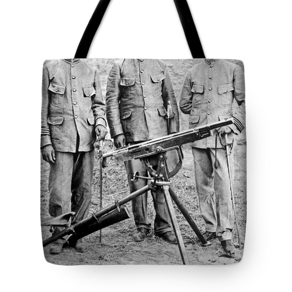 Mexican Rebel Commanders Tote Bag by Underwood Archives