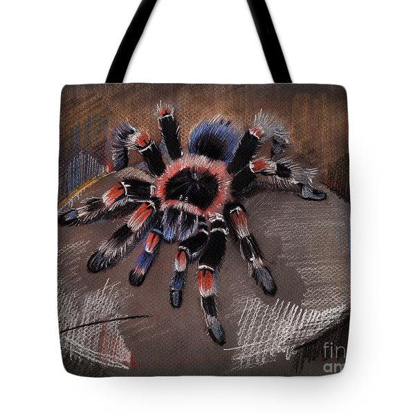 Mexican Redknee Tarantula Tote Bag