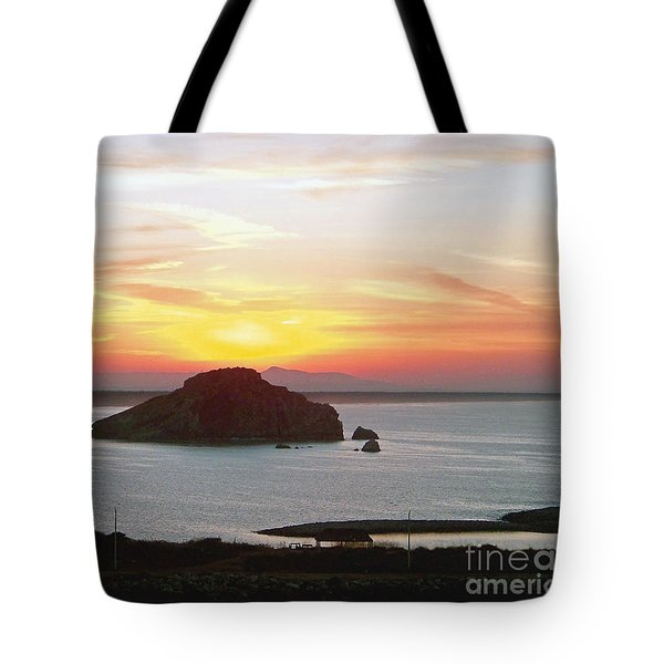 Tote Bag featuring the photograph Mexican Riviera Sunset by Gena Weiser