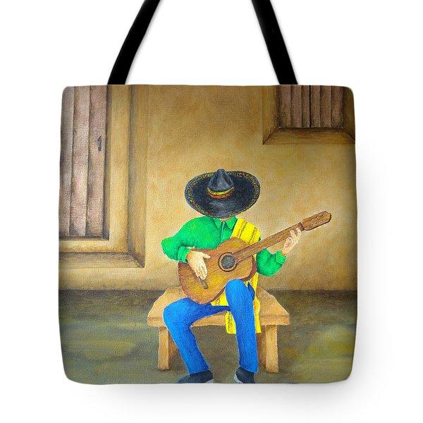 Mexican Serenade Tote Bag by Pamela Allegretto
