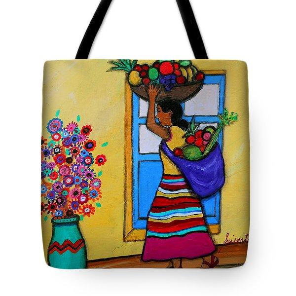 Mexican Street Vendor Tote Bag