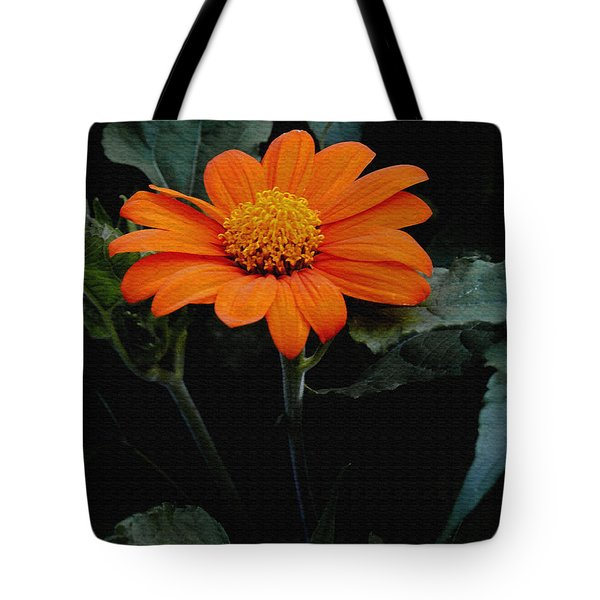 Tote Bag featuring the photograph Mexican Sunflower by James C Thomas