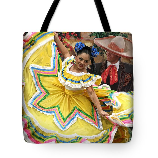 Mexicanhatdance Tote Bag