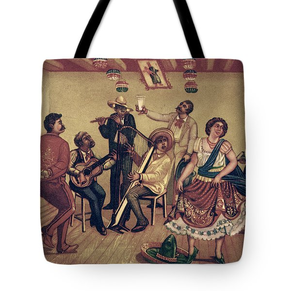 Mexico: Hat Dance Tote Bag by Granger