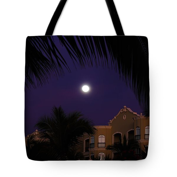 Mexico Moon Tote Bag