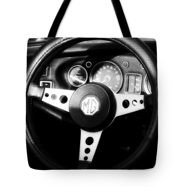 Mg Dashboard Tote Bag