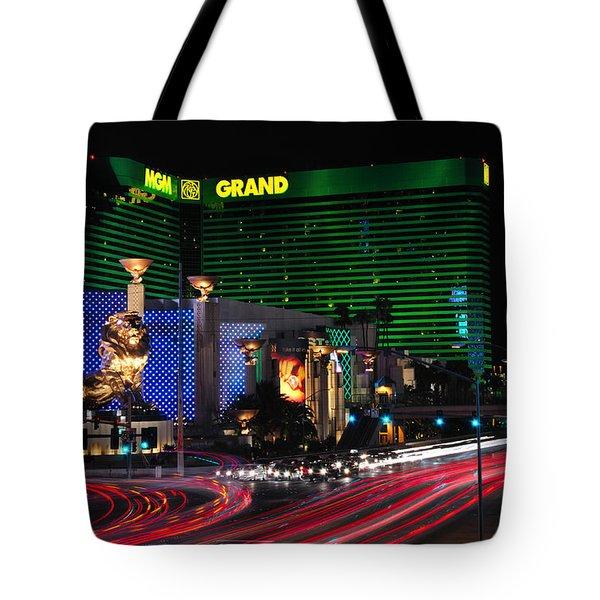 Mgm Grand Hotel And Casino Tote Bag